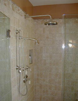 rainhead shower for remodeled bath new rainhead showerhead and hand