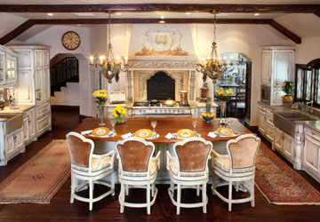 French tudor style kitchen design Tudor home interior design ideas
